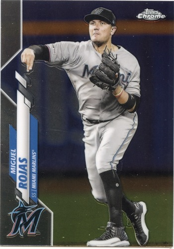 Photo of 2020 Topps Chrome #105 Miguel Rojas