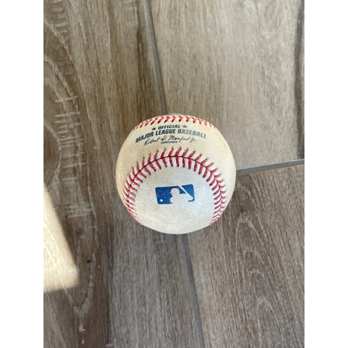 Photo of 8/16/20 Game-Used Baseball, Padres at D-backs: Emilio Pagan vs. Starling Marte (Single)