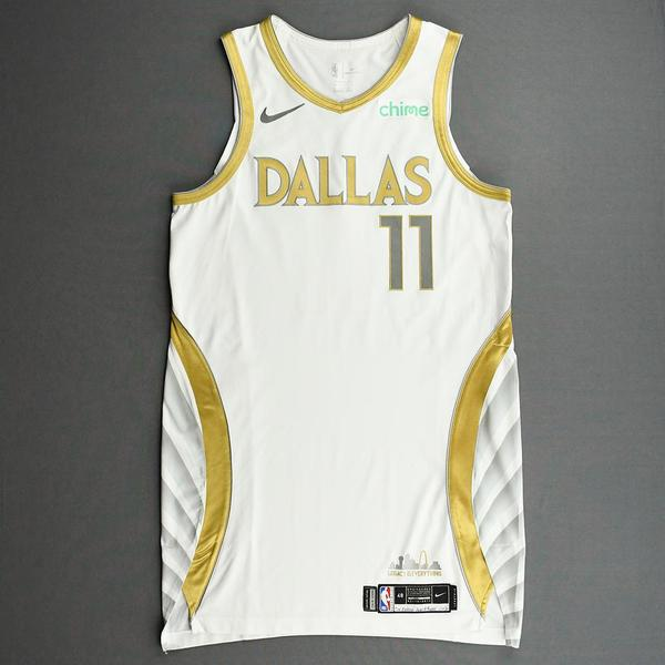 Image of Tim Hardaway Jr. - Dallas Mavericks - Game-Worn - City Edition Jersey - 2020-21 NBA Season