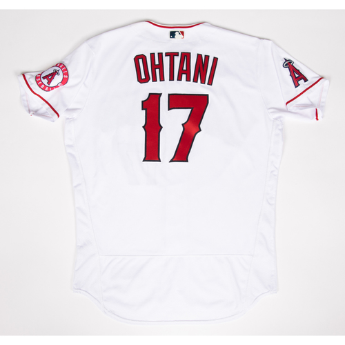 Photo of Shohei Ohtani 2021 Game-Used Jersey - Used During 5 Games