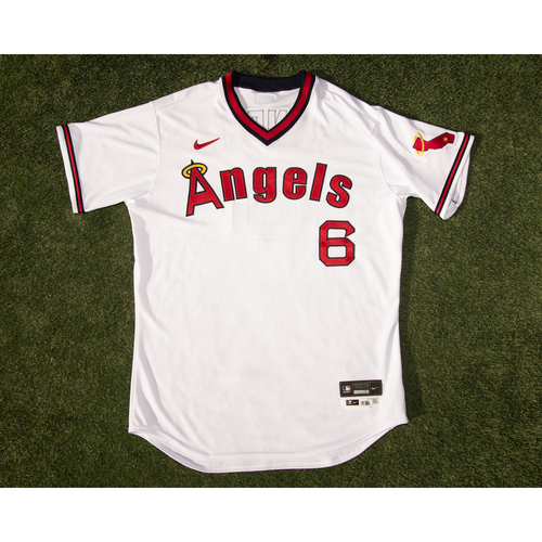 Photo of Anthony Rendon Team Issued 70's Throwback Uniform (pants not pictured but are included)