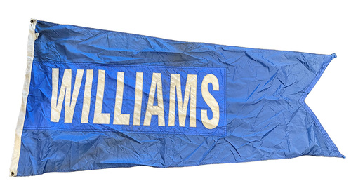 Photo of Wrigley Field Collection -- Rooftop Flag --  Billy Williams