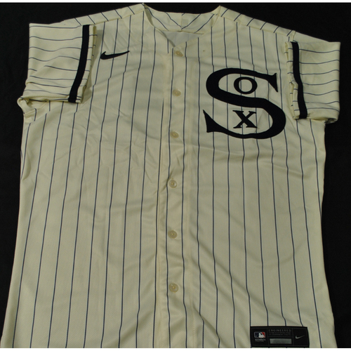 2021 New York Yankees vs. Chicago White Sox in Dyersville, Iowa - Game-Used 1919 Throwback Jersey - Dylan Cease (Worn 1-3 Innings) - Size 44