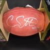 NFL - BRONCOS WR COURTLAND SUTTON SIGNED AUTHENTIC FOOTBALL W/#14 INSCRIPTION