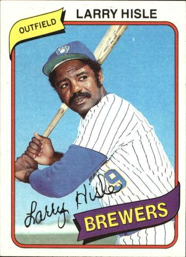 Photo of 1980 Topps #430 Larry Hisle DP