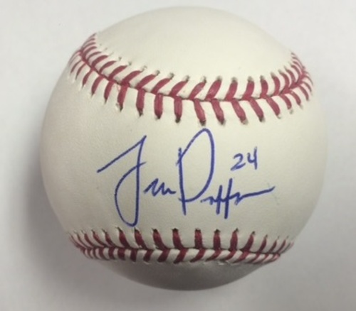 Photo of Trevor Plouffe Autographed Baseball