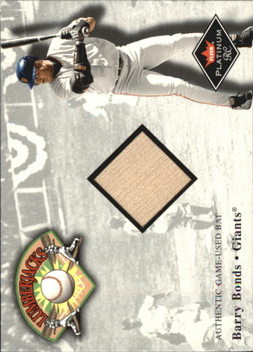 Photo of 2001 Fleer Platinum Lumberjacks #5 Barry Bonds