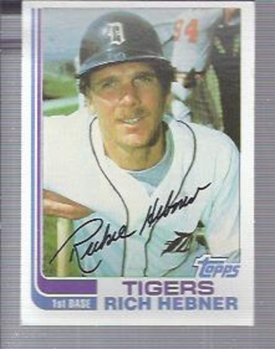 Photo of 1982 Topps #603 Rich Hebner