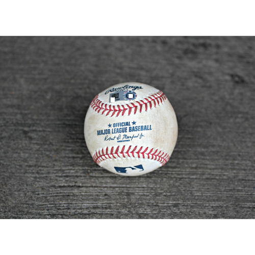 Game-Used Baseball: Melky Cabrera SGL RBI off KC's Pitcher Edinson Volquez - (Aug 09, 2016 - CWS at KC)
