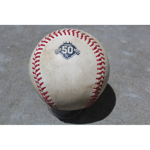Photo of Game-Used Baseball: Miguel Cabrera 2,666th Career Hit (DET at KC - 5/3/18)