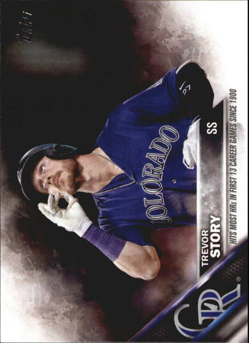 Photo of 2016 Topps Update #US114 Trevor Story Rookie Card