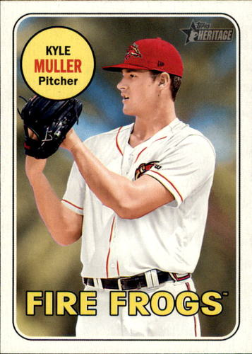 Photo of 2018 Topps Heritage Minors #178 Kyle Muller