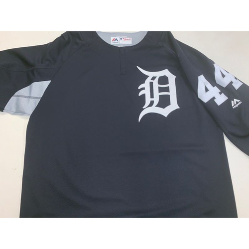 Photo of Team-Issued #44 Home Batting Practice Jersey
