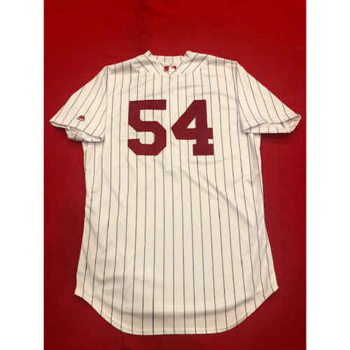 Photo of Sonny Gray -- Game-Used Jersey -- 1919 Throwback Game -- Nationals vs. Reds on June 2, 2019 -- Jersey Size 44
