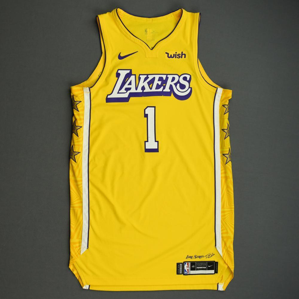Kentavious Caldwell-Pope - Los Angeles Lakers - Christmas Day' 19 ...