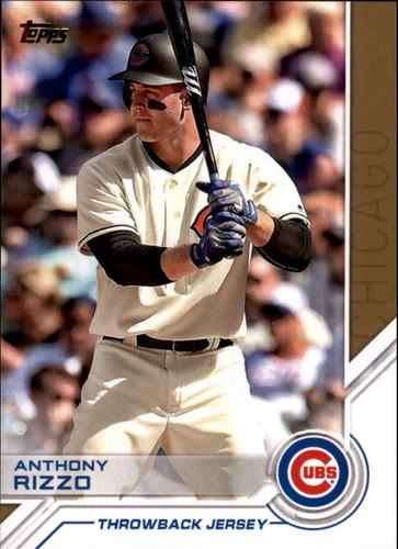 Photo of 2017 Topps Salute #S44 Anthony Rizzo
