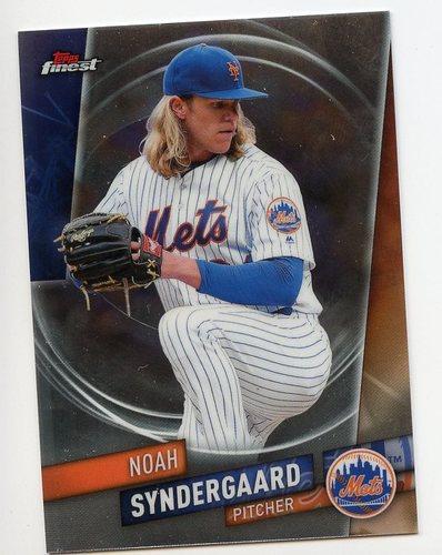 Photo of 2019 Finest #95 Noah Syndergaard