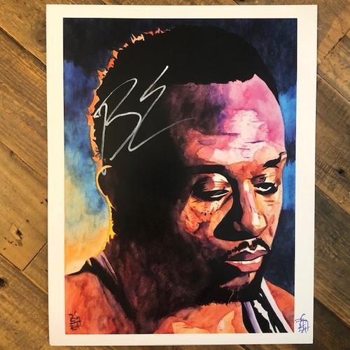 Photo of Big E SIGNED Rob Schamberger 11x14 Art Print(The Power)