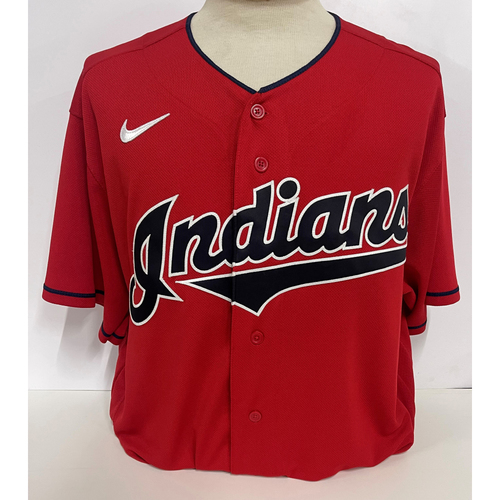 Photo of Game-Used Jersey- Austin Hedges number 17- Cubs at Indians 5/12/21