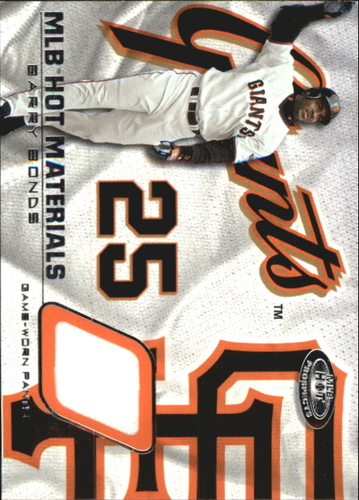 Photo of 2002 Hot Prospects MLB Hot Materials #BB2 Barry Bonds Pants