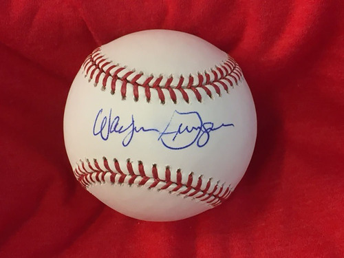 Photo of Wayne Granger Autographed Baseball
