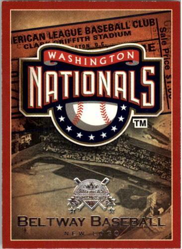 Photo of 2005 National Pastime Beltway Baseball #20 New Logo