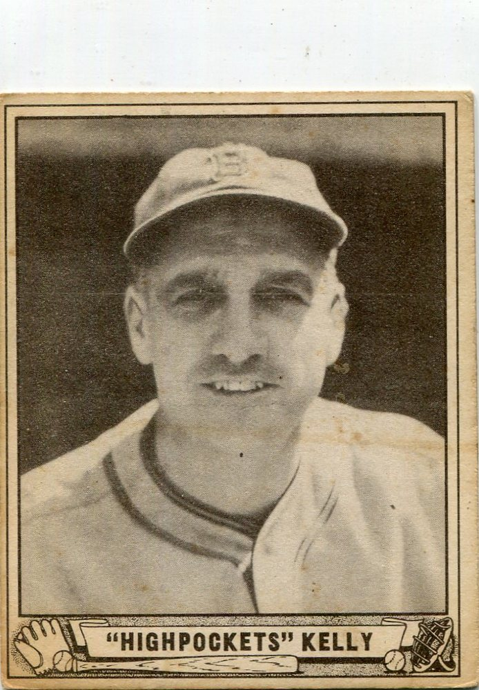 1940 Play Ball #142 George Kelly rookie card --Hall of Famer
