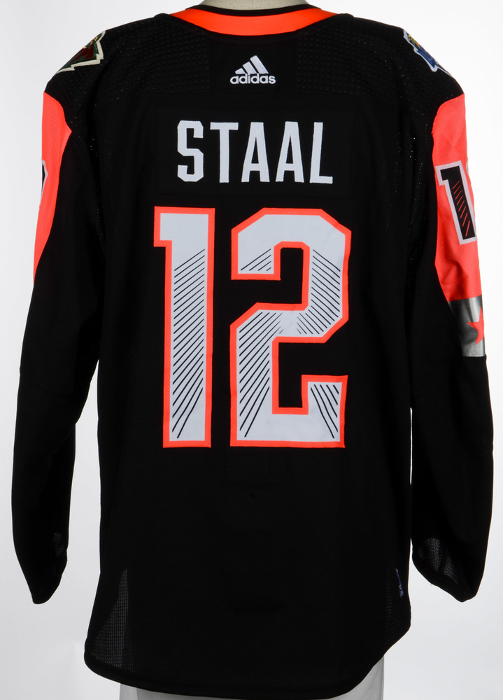Eric Staal Minnesota Wild Player-Issued 2018 All-Star Game Jersey