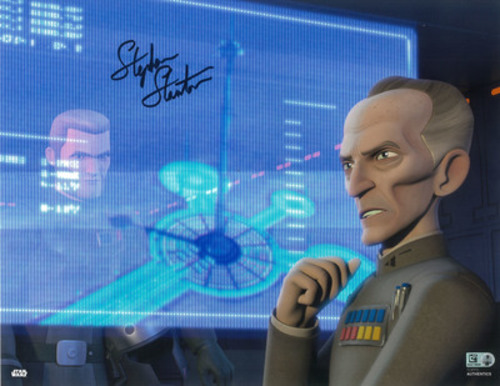 Stephen Stanton as Grand Moff Tarkin 11x14 Autographed in Black Ink Photo