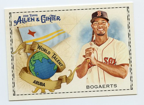 Photo of 2018 Topps Allen and Ginter World Talent #WT3 Xander Bogaerts