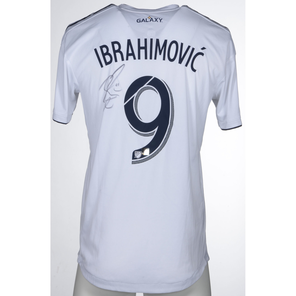 finest selection 6496e e7e76 Zlatan Ibrahimovic LA Galaxy Match-Worn, Autographed ...