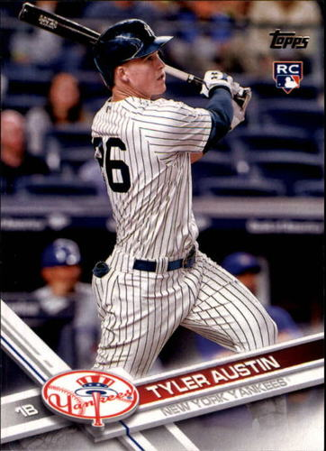 Photo of 2017 Topps #43 Tyler Austin Rookie Card