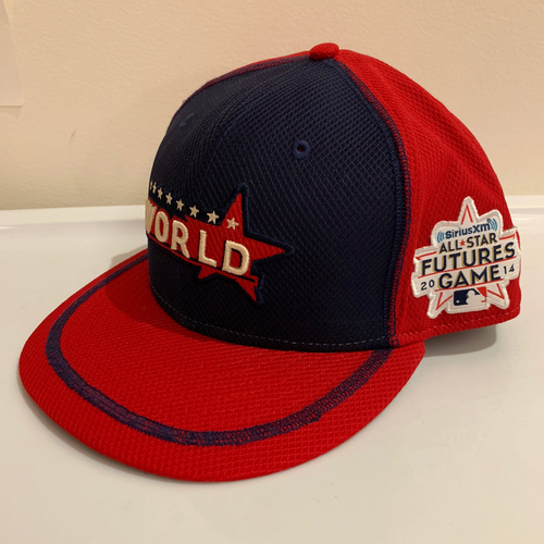 Photo of 2014 All Star Futures Game -  Game Used Cap  - Rosell Herrera (Colorado Rockies) Size - 7 -3/8