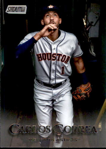 Photo of 2019 Stadium Club #30 Carlos Correa