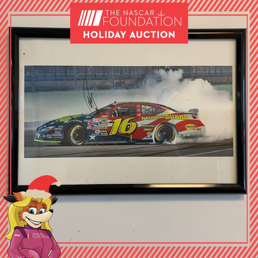 NASCAR's Greg Biffle Autographed Photo!