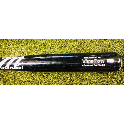 Photo of Wilmer Flores Game-Used Broken Bat, 5/11/19 vs. Braves - Base hit off Josh Tomlin