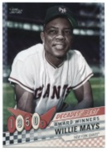 Photo of 2020 Topps Decades' Best #DB1 Willie Mays