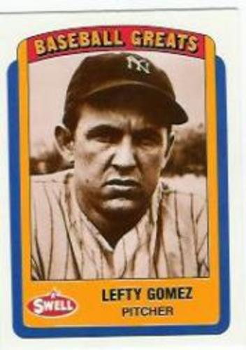 Photo of 1990 Swell Baseball Greats #84 Lefty Gomez