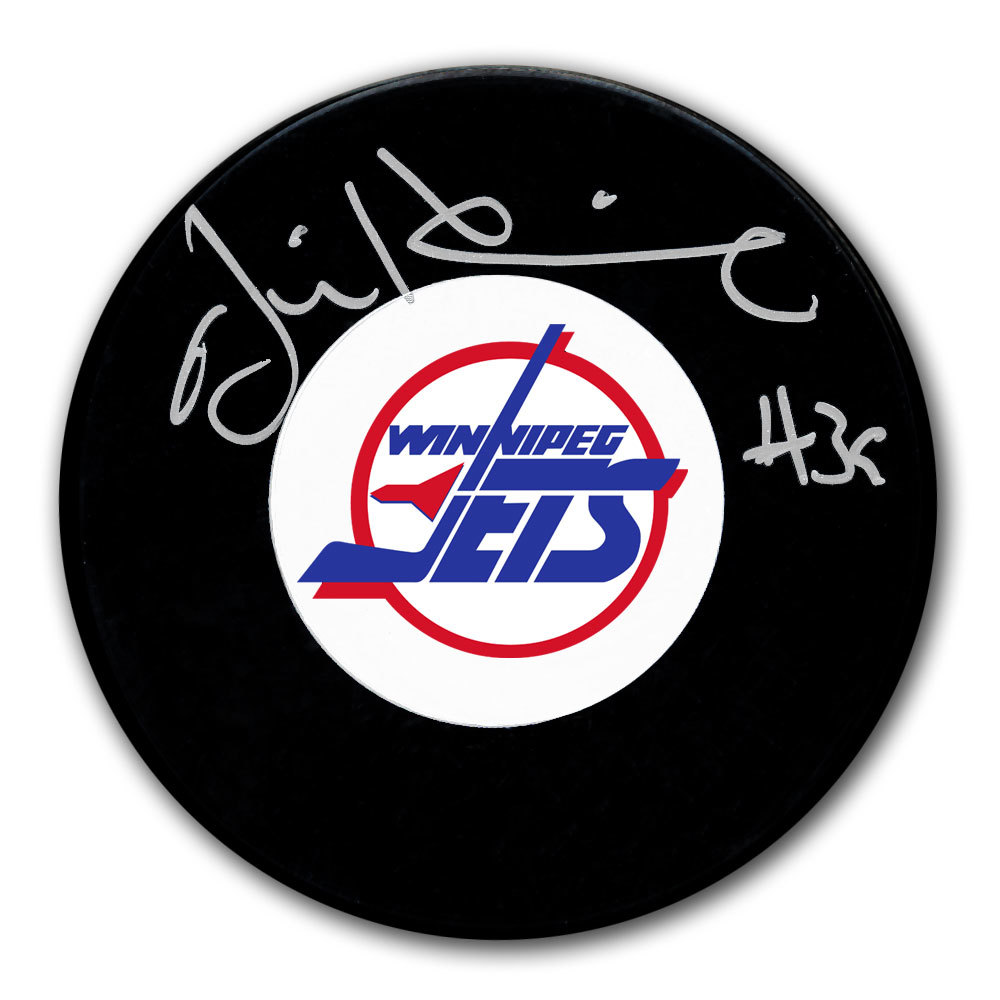 Jim Hrivnak Winnipeg Jets Autographed Puck