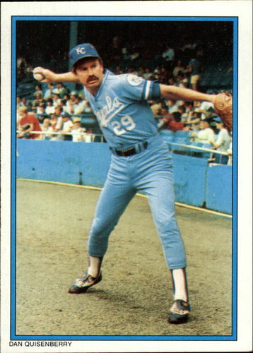 Photo of 1985 Topps Glossy Send-Ins #35 Dan Quisenberry
