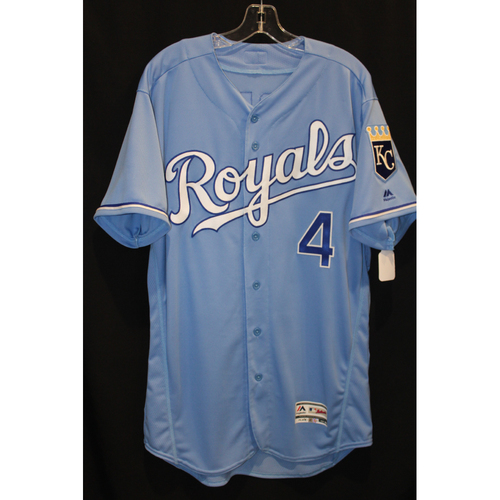 Game-Used Jersey: Alex Gordon (Size 46 - COL at KC - 8/24/17)