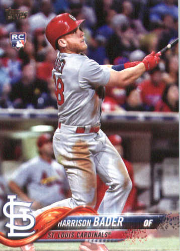 Photo of 2018 Topps #21 Harrison Bader RC