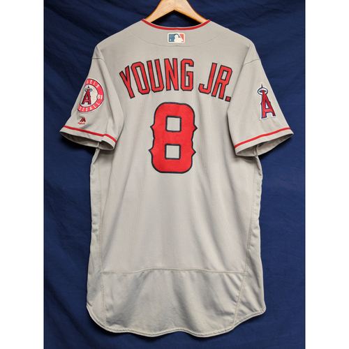 Photo of Eric Young Jr Game-Used Road Jersey