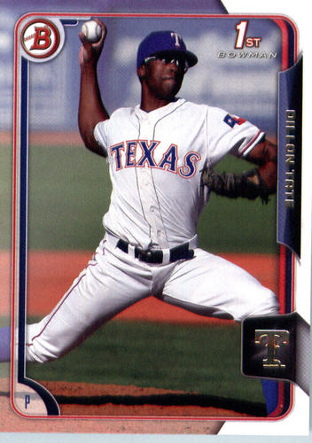 Photo of 2015 Bowman Draft #50 Dillon Tate