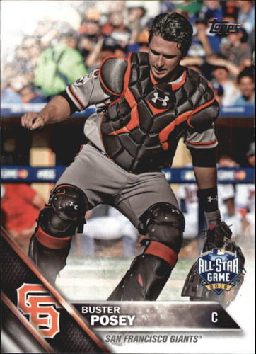 Photo of 2016 Topps Update #US141 Buster Posey AS