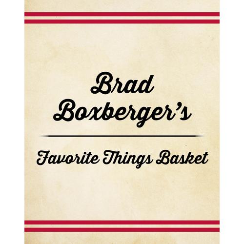 Photo of Brad Boxberger's Favorite Things Basket