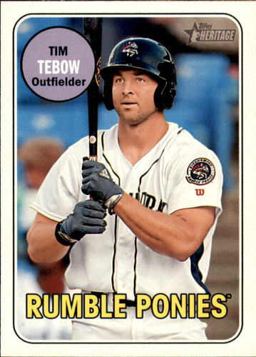 Photo of 2018 Topps Heritage Minors #180 Tim Tebow
