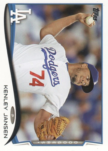 Photo of 2014 Topps #606 Kenley Jansen