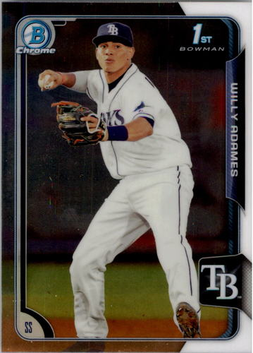 Photo of 2015 Bowman Chrome Prospects #BCP61 Willy Adames