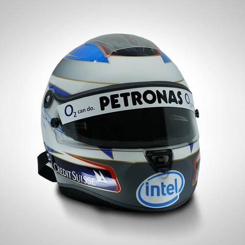 Photo of Nick Heidfeld 2007 1:1 Replica Helmet